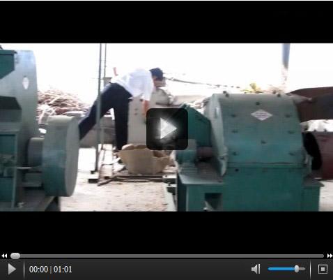 木材粉碎机视频_木材粉碎机高清视频_木材粉碎机试机现场
